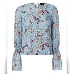 INTERMIX top with bell sleeves